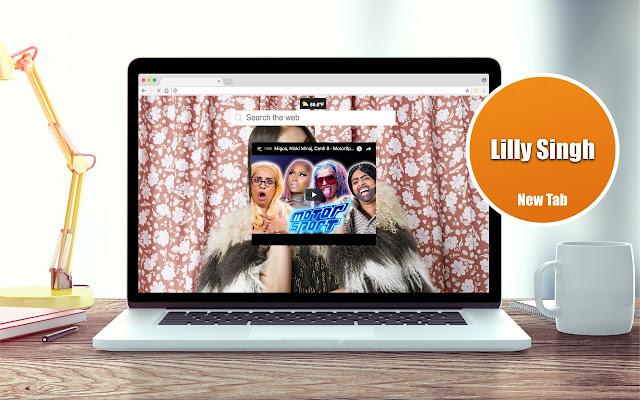 Lilly Singh Videos New Tab Theme