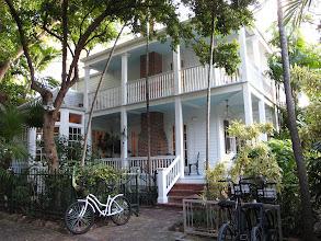 Photo: House with a sun porch on Simonton Street.