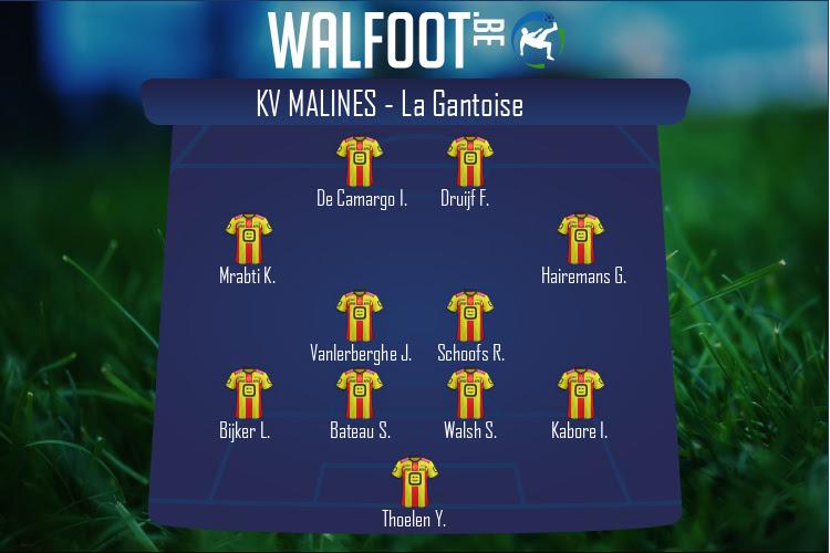 KV Malines (KV Malines - La Gantoise)