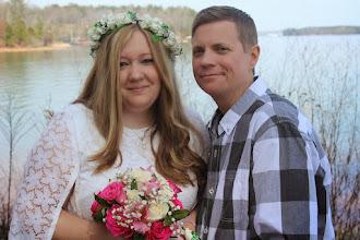 Photo: Lakeside Same-sex elopement http://WweddingWoman.net