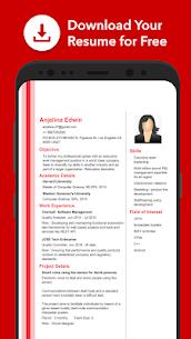 Resume Builder App Free CV Maker & PDF Templates (MOD, Premium) v7.4 4