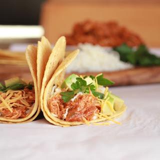 Crockpot Spiced Chicken Tacos