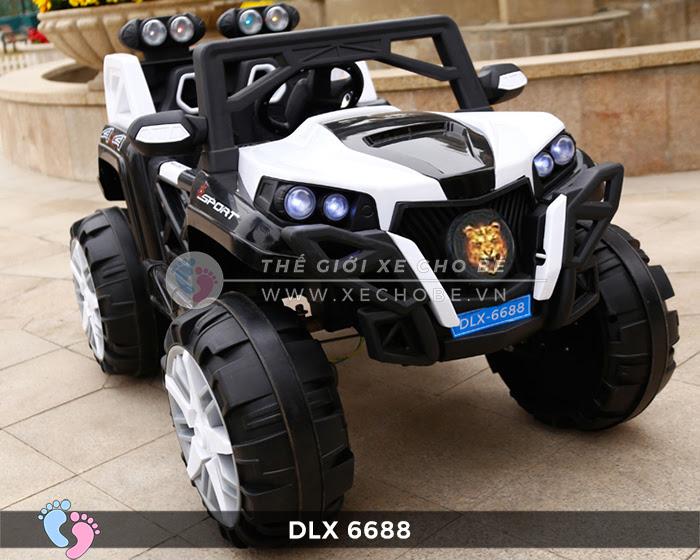 Xe điện địa hình cho bé DLX-6688 10