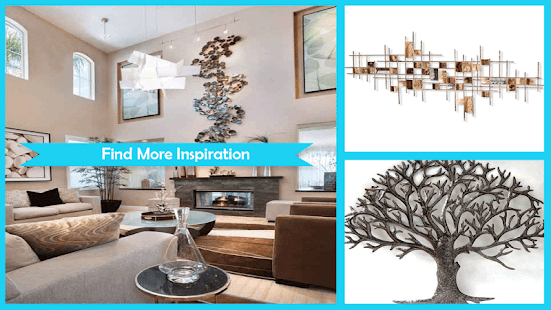 Amazing Metal Wall Sculpture Design - náhled