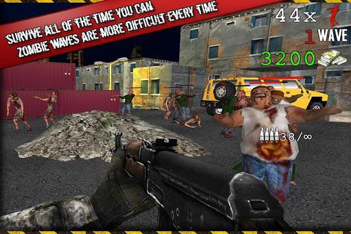 Zombie Sniper Target Shooting