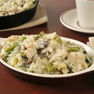 Cream of Mushroom Rice Casserole.