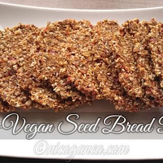 Raw-Vegan Seed Bread.