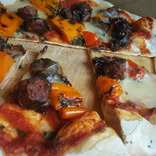 Italian Sausage and Peppers Pizza