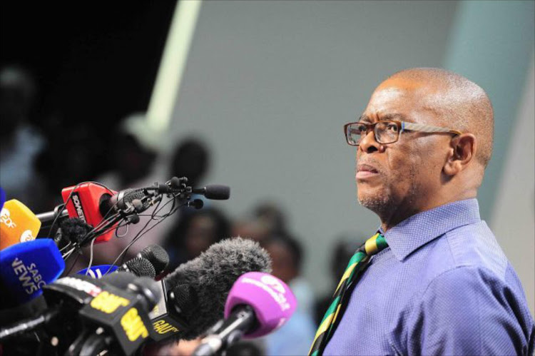 DA lay charges against Ace Magashule over comments made during ANC event.
