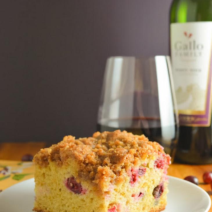 Cranberry Orange Coffeecake With Brown Sugar Crumb Recipe | Yummly
