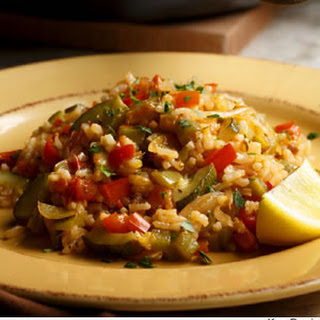 Basque Vegetable Rice