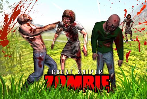 Sniper Zombie Assault Hunter