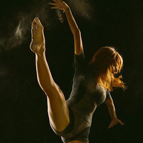Interlude4U by CEBImagery .com - People Fine Art ( modern, arizona, art, powder, ballet, fine, dance, dancer, photography )
