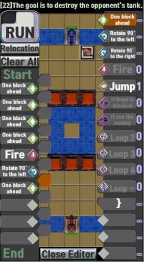 Coding Tank (Coding Game) - Start Coding 6 screenshots 2