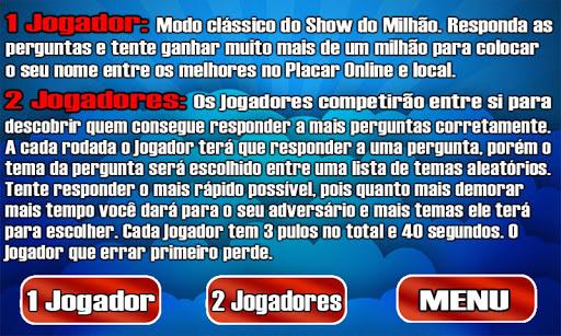 Show do Bilhu00e3o Milhu00e3o Infinito 1.1.0 screenshots 9