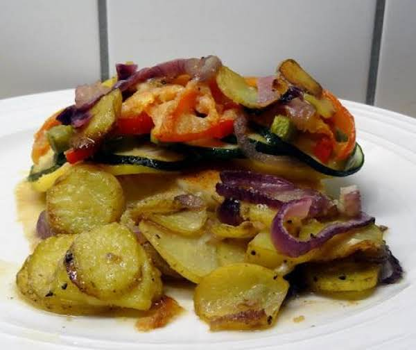 Haddock With Fresh Summer Vegetables Recipe