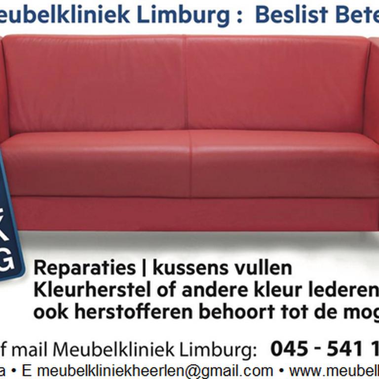 Leren Bank Scheur Repareren.Meubel Kliniek Limburg Meubelreparateur In Heerlen