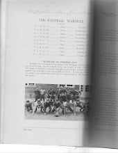 Photo: 1926 Football Schedule and Scores
