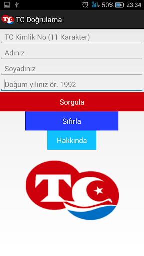 TC Kimlik No Sorgulama