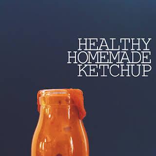 Healthy Homemade Ketchup.
