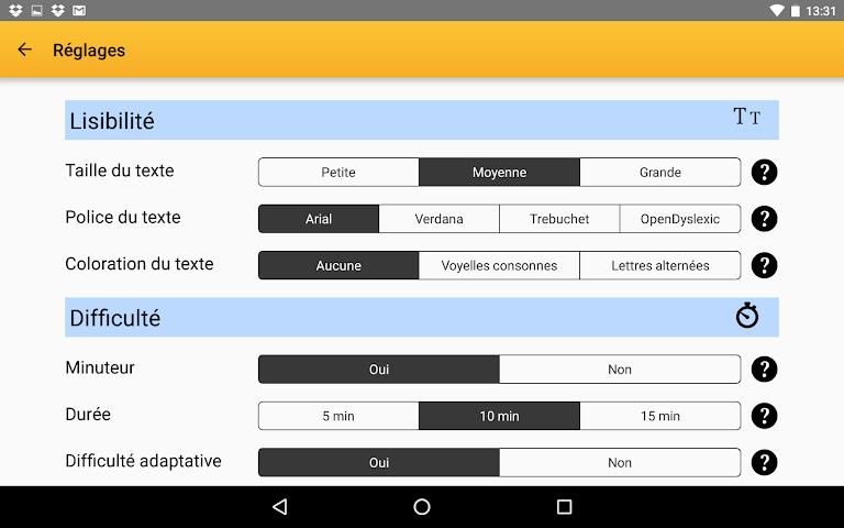 android Exogus CM1 Révision français Screenshot 15