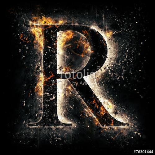 R Name Wallpaper HD Screenshot 2