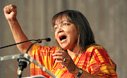 Public works minister Patricia de Lille spoke about the loss of her sister, who was raped, stabbed and killed.