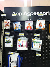 Photo: After about 5 minutes, we found them in the app accessory aisle. 3 varieties: letters, numbers or animals. Which would you choose?