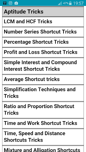 Shortcut Reasoning Tricks 1.0.4 screenshots 2