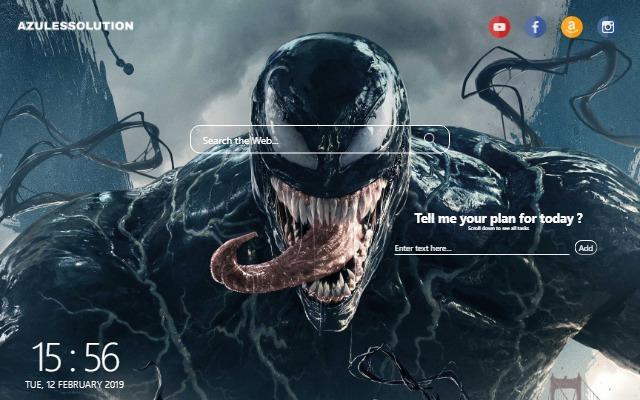 Venom Wallpaper - New Tab Theme