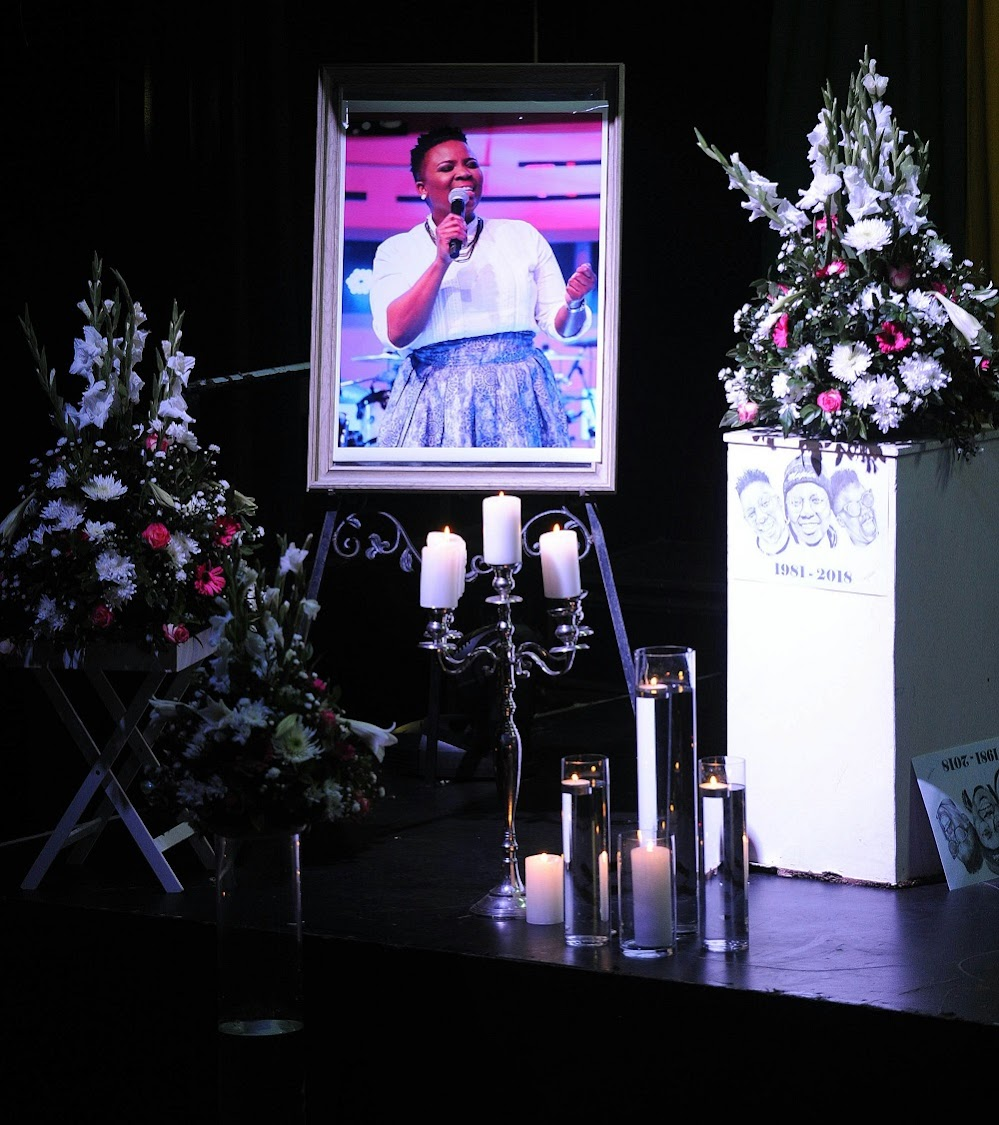 Mourners gathered at Bassline to celebrate Siyasanga Kobese's life.