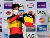 Wout van Aert als Belgisch kampioen veldrijden al op stap geweest met Georges