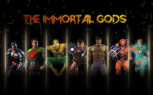 Superhero Fighting Immortal Gods Ring Arena Battle 1.1 screenshots 5