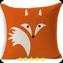 Pillowcase design icon