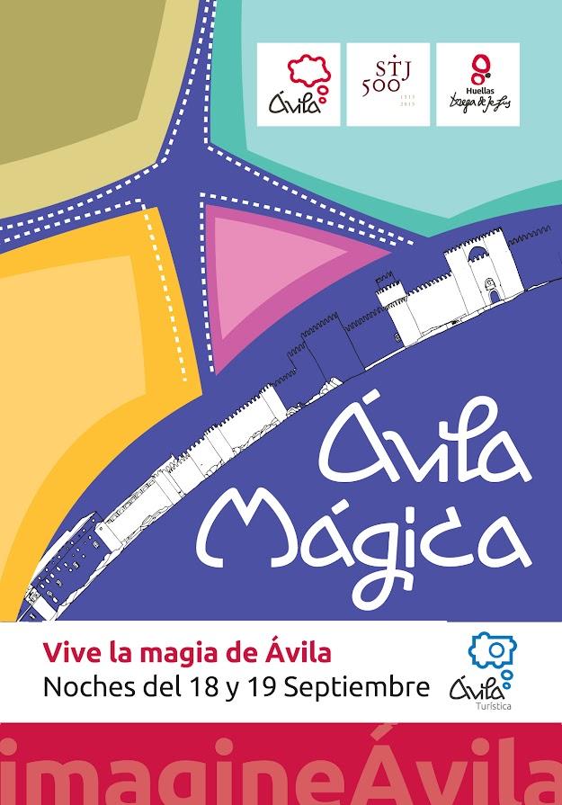 cartel Ávila Mágica 2015