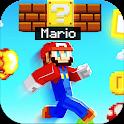 Mario Mod for Minecraft PE + Mario World Map icon