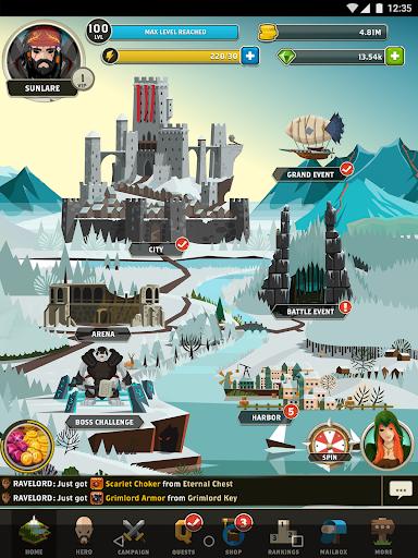 Questland: Turn Based RPG android2mod screenshots 24