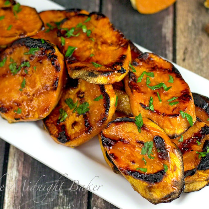 Maple Cinnamon Orange Sweet Potatoes