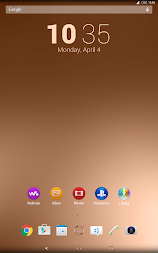 Shiny Copper Theme for Xperia APK screenshot thumbnail 13