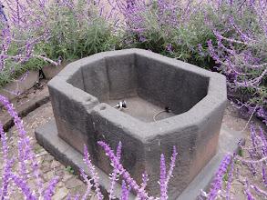 """Photo: Monolithic Inca """"bathtub""""."""
