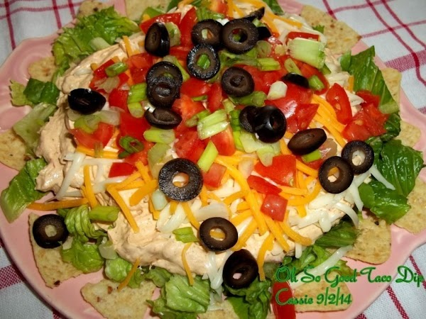 Top with cheese, tomatoes, olives, green onions.