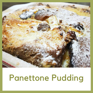 Panettone Pudding.