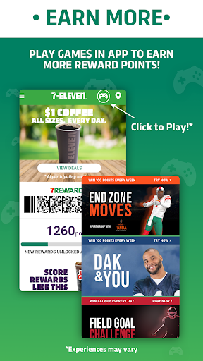 Screenshot for 7-Eleven, Inc. in United States Play Store