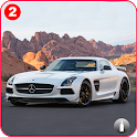 Benz SLS AMG: Extreme Hilly Roads Drive Offroad icon