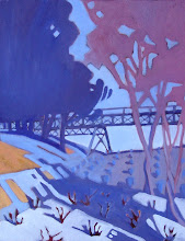 Photo: Muir Vineyard, oil on canvas by Nancy Roberts, copyright 2014.