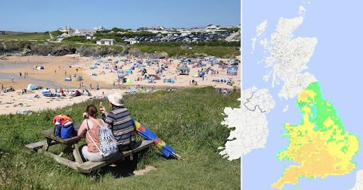 Southern England put on 'very high' alert for wildfires after days of 30°C heat