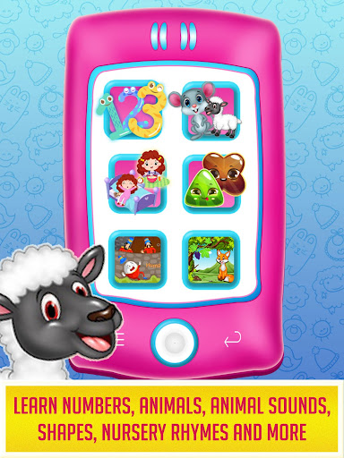 Princess Baby Phone - Kids & Toddlers Play Phone android2mod screenshots 2