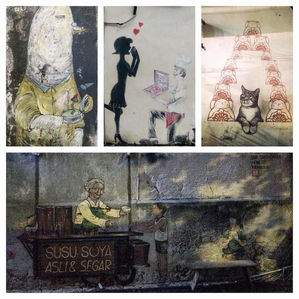 georgetown penang street art malaysia