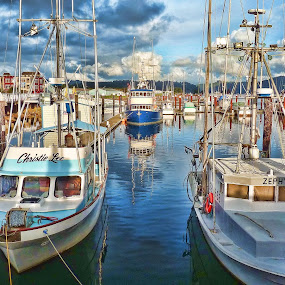 Christie Lee by Christy Sawyer - Transportation Boats ( water, oregon, boats, marina, dock )
