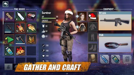 The Outlived: Zombie Survival APK screenshot thumbnail 2